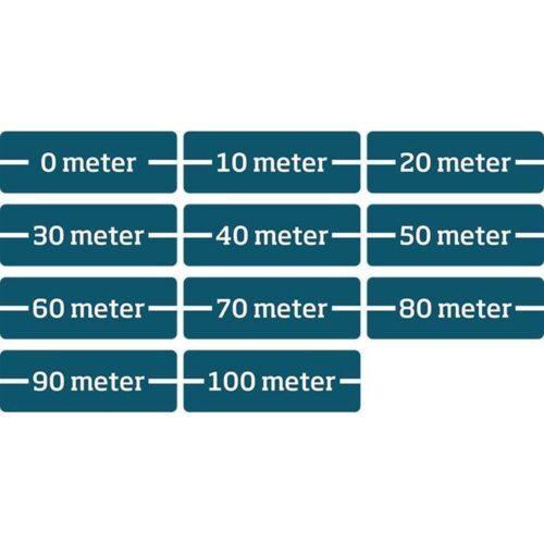 100 meter p