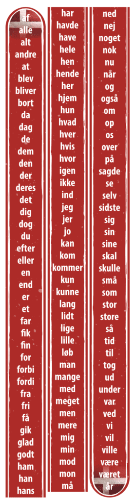 120 danske ord bane 14700x400 g