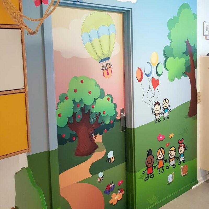 Dørfolie inkl. karme med eget design-28857