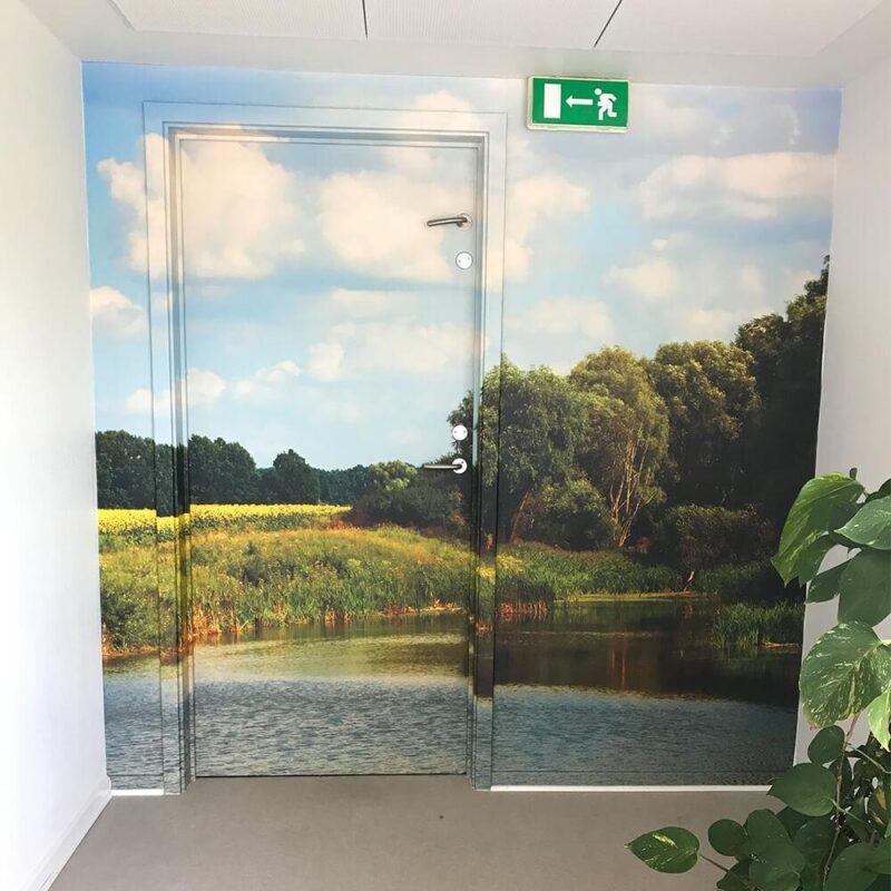 Dørfolie inkl. karme med eget design-28858