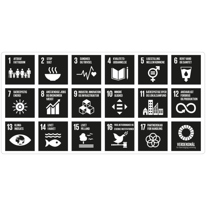17 Verdensmål - Klassisk-0