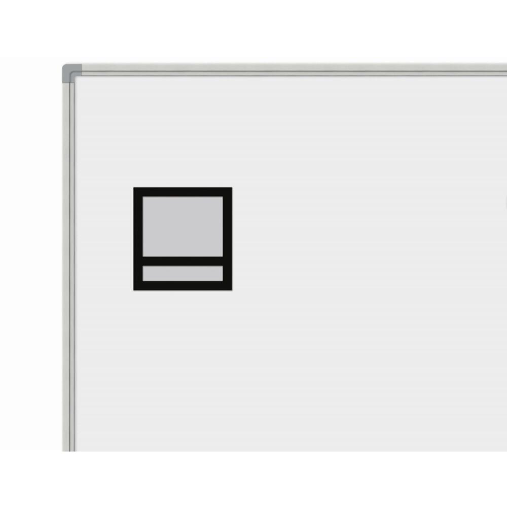 Magnetisk fotoramme med navnefelt, 5 stk.-0