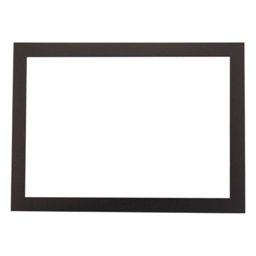 Magnetisk fotoramme, sort - Pakke med 5 stk.-0