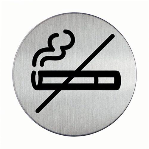 Rygning forbudt - Rund-0
