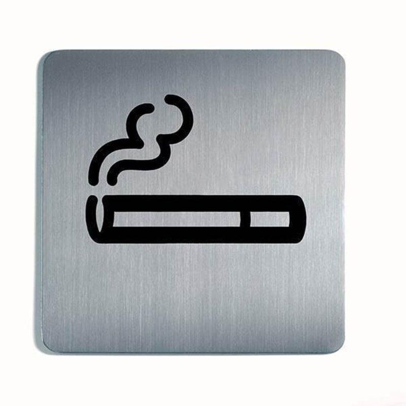Rygning tilladt - Firkantet-0
