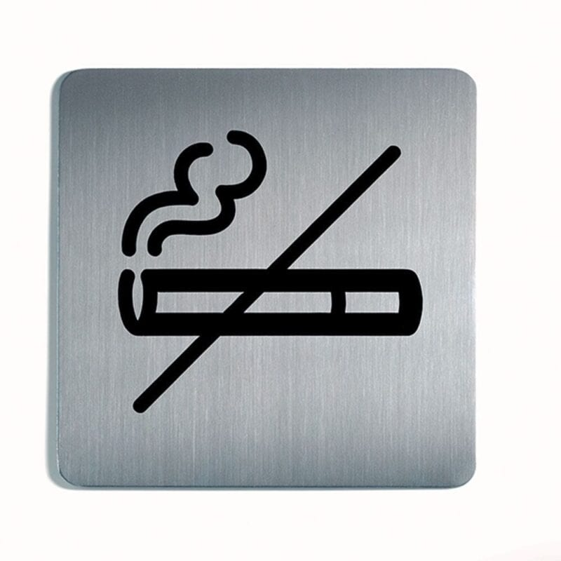 Rygning forbudt - Firkantet-0
