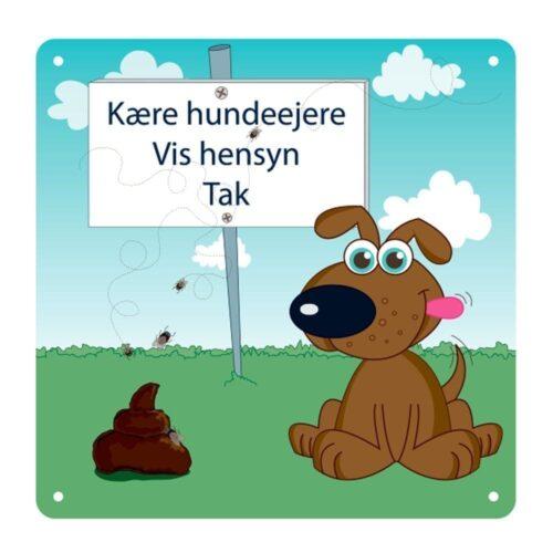 Kære hundeejere - 25 x 25 cm-0