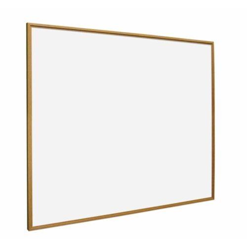 Whiteboard med ramme i trælook - Fyr-0