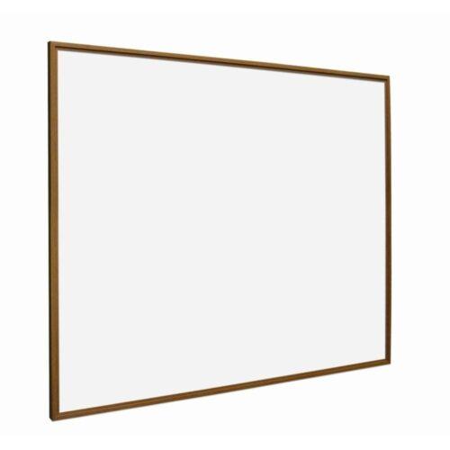 Whiteboard med ramme i trælook - Eg-0