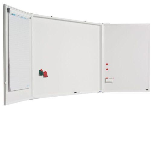 Låsbar whiteboardtavle med mat overflade-0