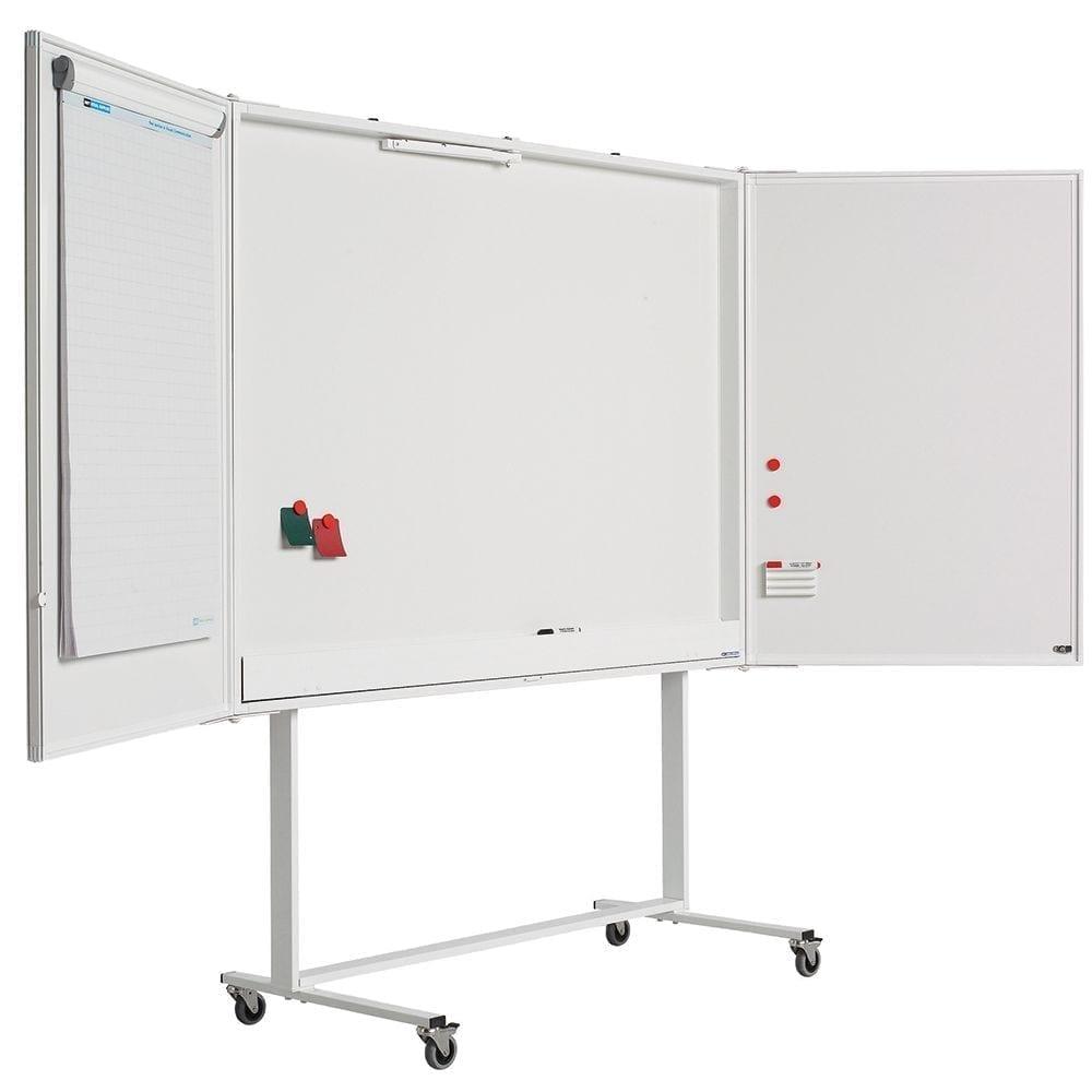Mobilt-stativ til låsbare whiteboardtavler-0