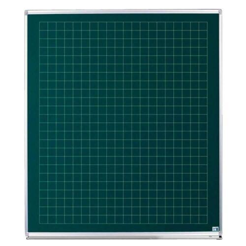 Skoletavle - Grøn kridttavle med tern-0