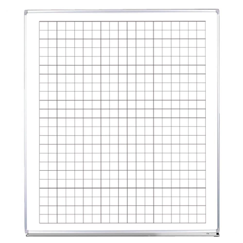 Skoletavle - Whiteboard med tern-0