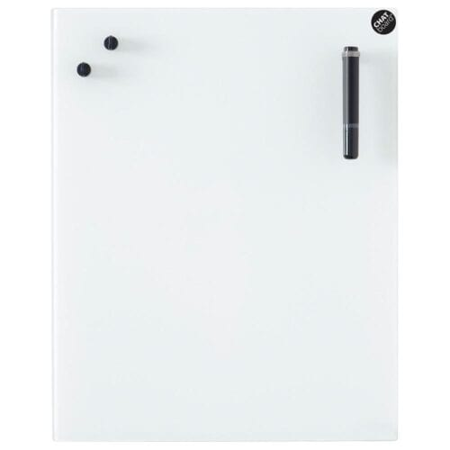 Glastavle Classic - Pure White-0