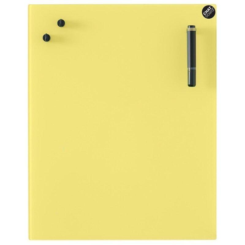 Glastavle Classic - Yellow -0