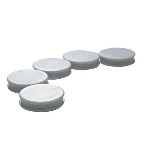 Magneter til glastavler, 5 stk.-0