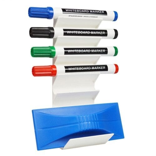 Magnetisk penneholder til 6 penne og en svamp-0