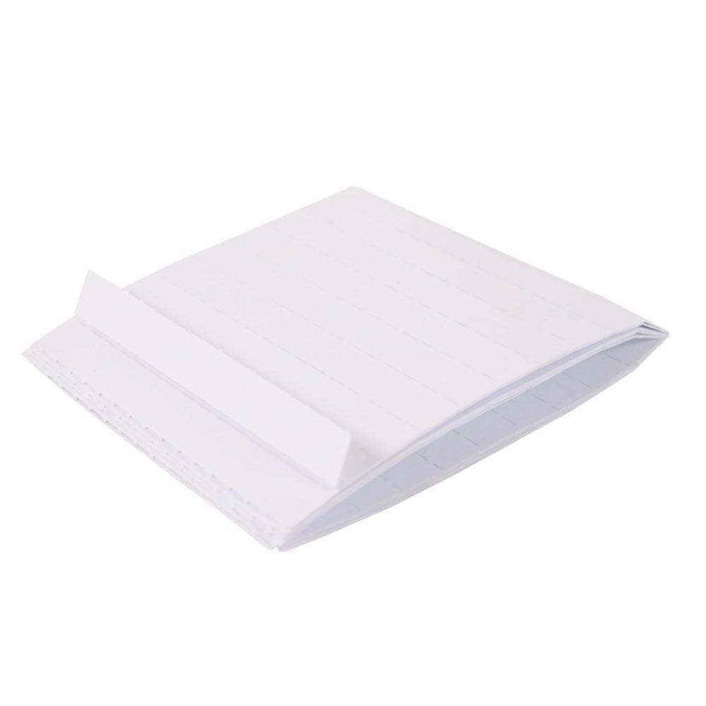 Karton til tekstholder 2x6 cm - 100 stk.-0