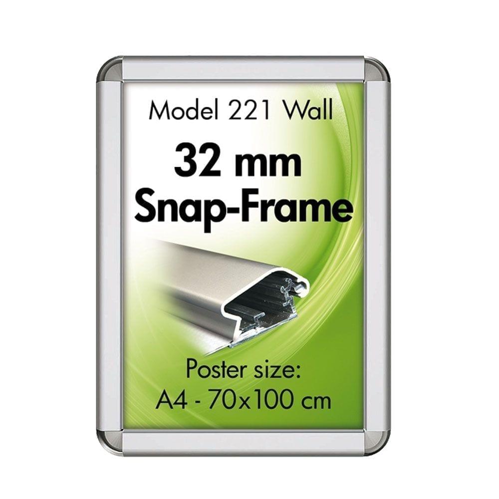 Plakattavle - 32 mm profil-0