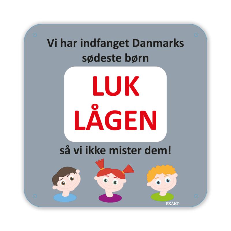 Danmarks sødeste børn - 25 x 25 cm-0