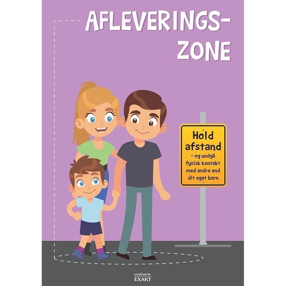 Afleveringszone 2, A4 - Skilteplade-0