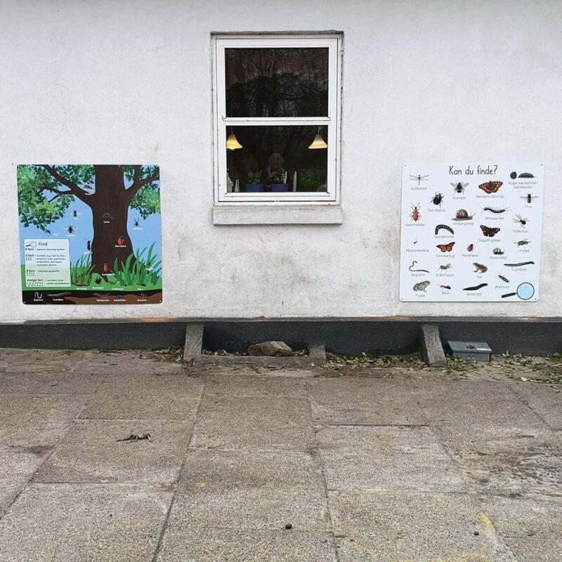 'Kan du finde - 2', 100x100 cm - Læringstavle-22337
