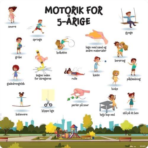 Motorik, 5 år - Læringstavle-0