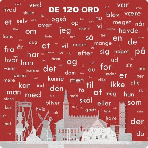 120 danske ord med illustration - Skilteplade-0