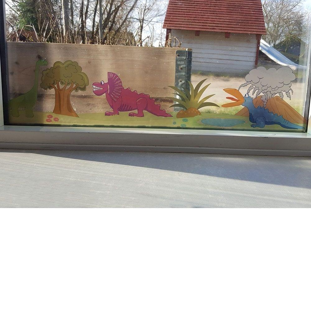 Dinoland - Vinduesfolie-22093