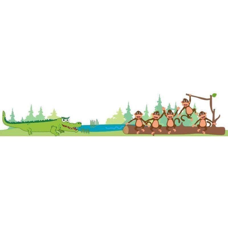 5 aber på en gren - Vinduesfolie-15598