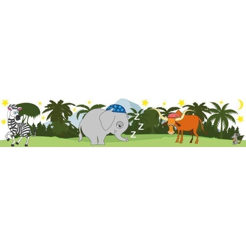 Elefantens vuggevise - Vinduesfolie-0