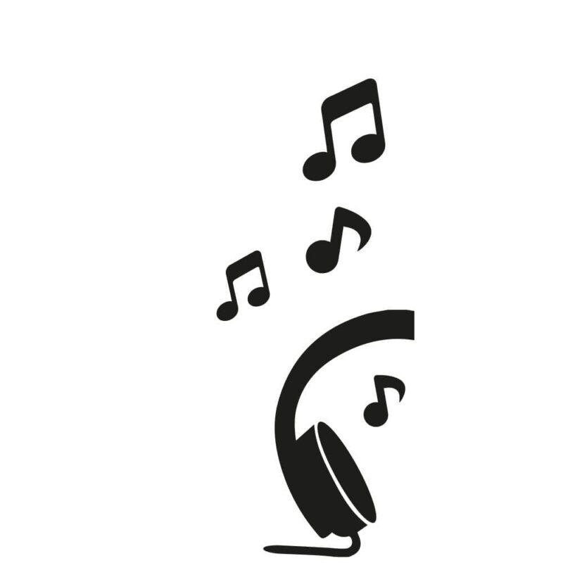 Musik - Dørfolie-0