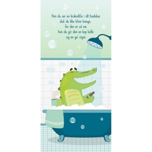 Hvis du ser en krokodille - Dørfolie, op til 215x100 cm-0