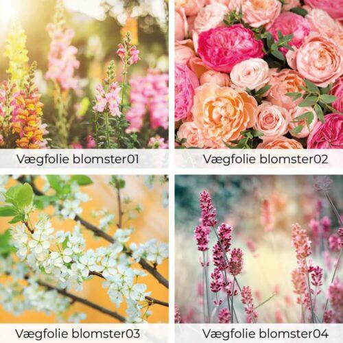 Vægfolie - Blomster-0