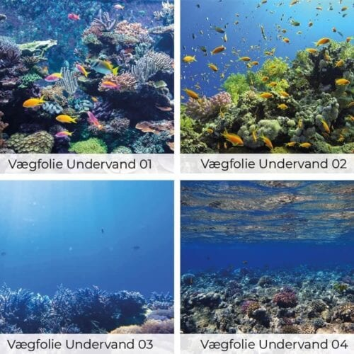Vægfolie - Undervandsmotiver-0