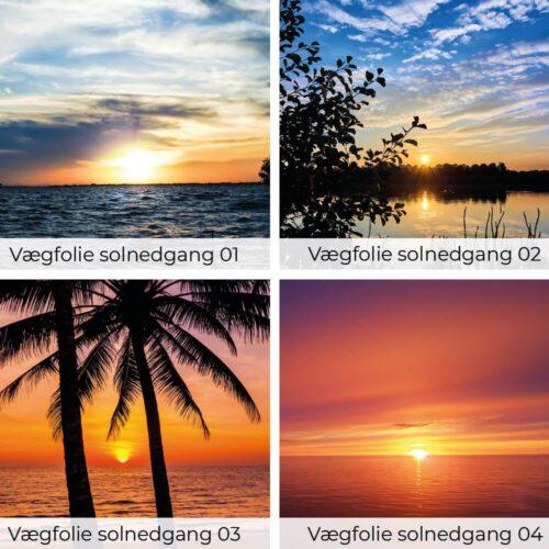 Vægfolie - Solnedgang-0
