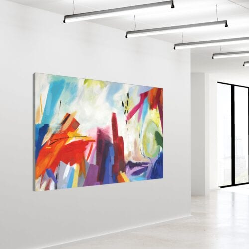 Akustikbillede Abstract Acrylic 120x180cm