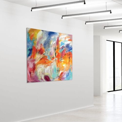 Akustikbillede Abstract Acrylic 2 120x120cm