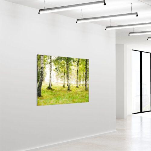 Akustikbillede Birkeskov 04 90x120cm