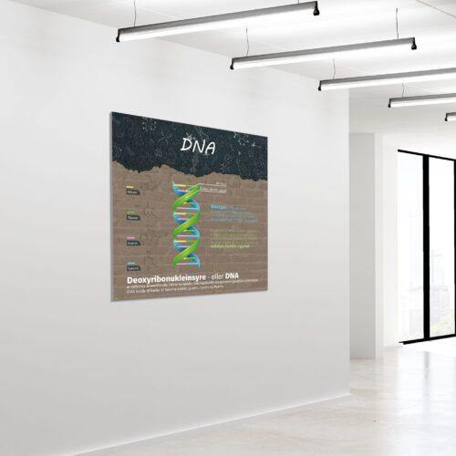 Akustikbillede DNA 120x120cm
