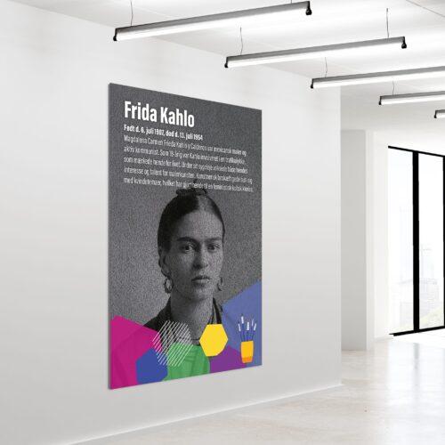 Akustikbillede Frida Kahlo 180x120cm