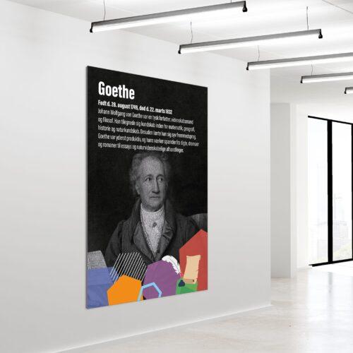 Akustikbillede Goethe 180x120cm