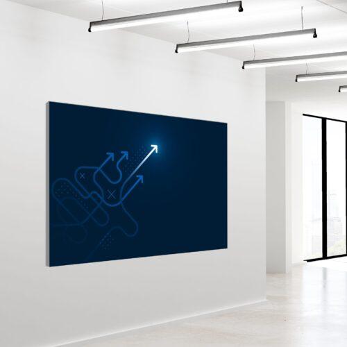 Akustikbillede Innovation 2 120x180cm