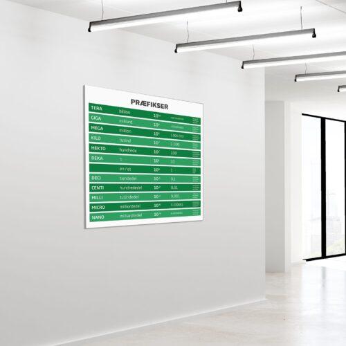Akustikbillede praefikser 1 120x120cm