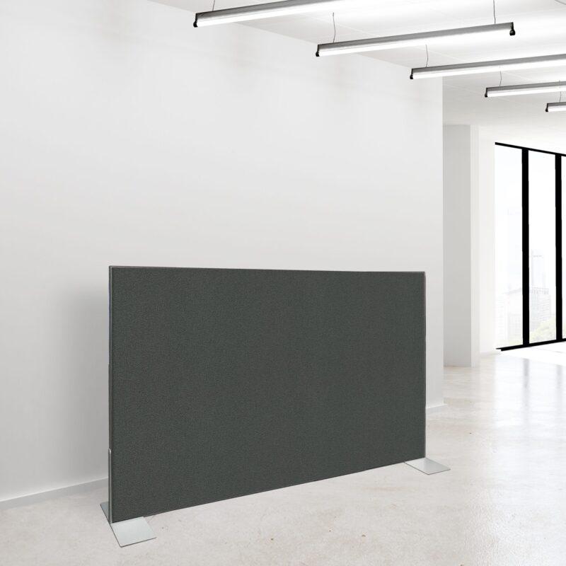 Akustikvaeg 120 x 180 Koksgraa 1