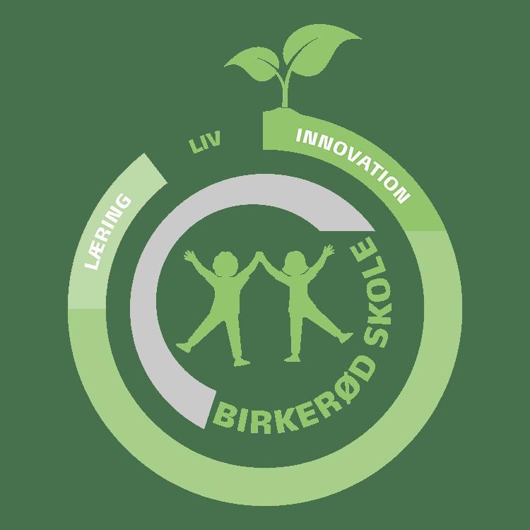 Birkeroed skole logo 1
