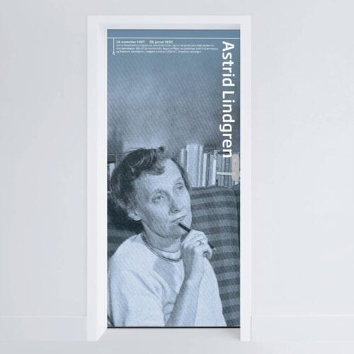 Doerfolie Astrid Lindgren 215x100cm