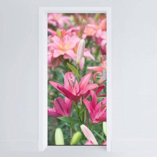 Doerfolie Blomster04 215x100cm