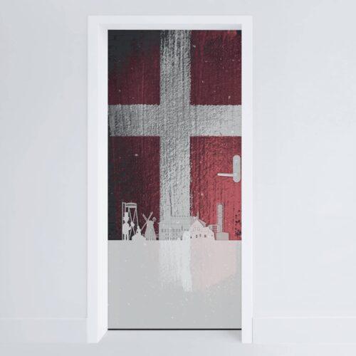 Doerfolie Danmark 215x100cm