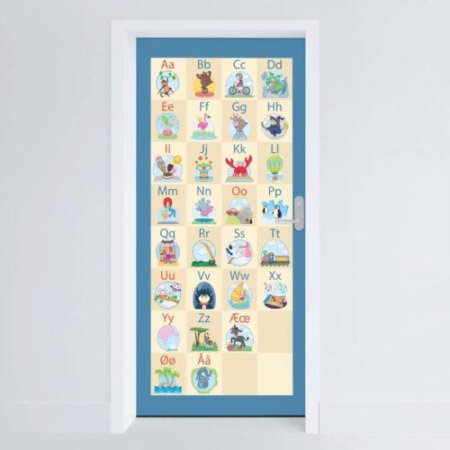 Doerfolie Det sjove alfabet 215x100cm
